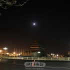 天安门月亮与星星