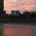 府南河的晚霞