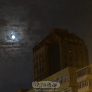 昨晚的月亮