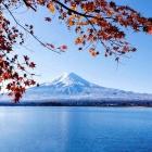 富士山初雪