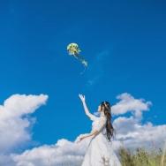 带着婚纱去旅...