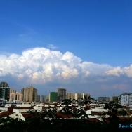 天边美丽的云...