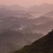 天台山日出